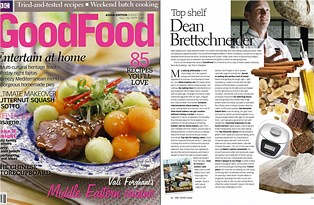 BBC's Good Food magazine, Asia Edition, August 2011